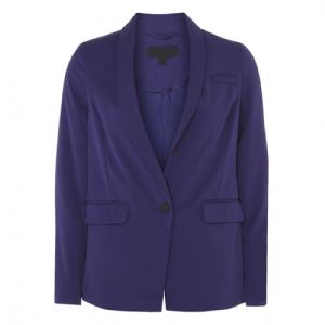 Ex Dorothy Perkins Cobalt Blue Smart Button Blazer Coat Jacket | FD&K
